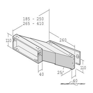 einbau briefkasten von renz metallwaren 14 1 20923 vz mpn 141209230108 f r 71 59 eur bei sysgotec. Black Bedroom Furniture Sets. Home Design Ideas