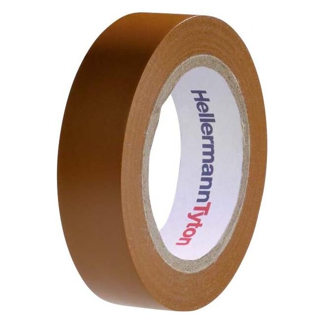 HellermannTyton PVC Isolierband Flex 15-BR15x10m 710-00107