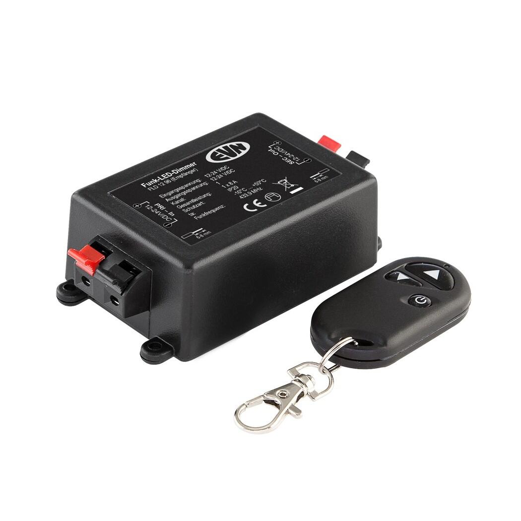 EVN Lichttechnik LED-Funk-Dimmer-Set FLD 1296