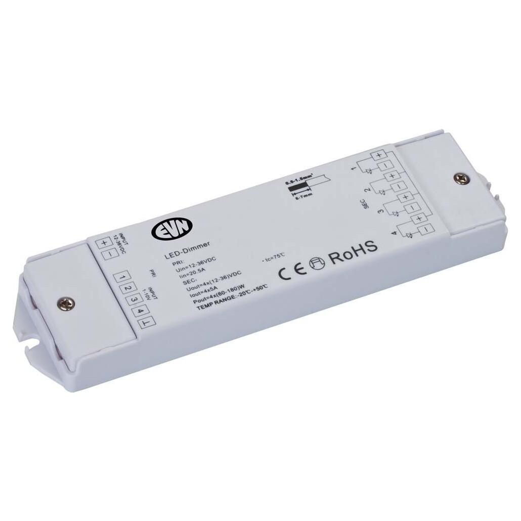 EVN Lichttechnik LED-Dimmer LD1-10V4x5A