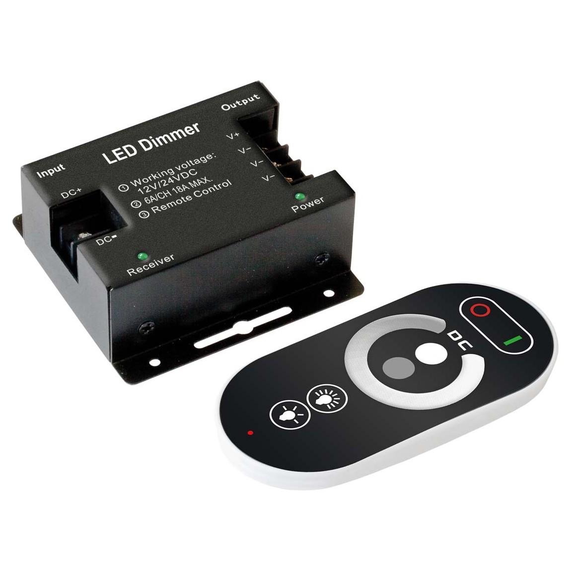 EVN Lichttechnik LED-Dimmer Set FD-Set3x6A