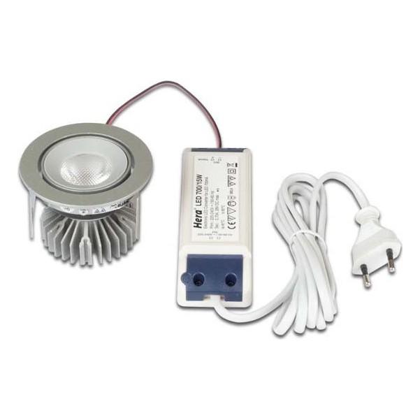 Hera LED-Einbaustrahler SR68LEDSet35Gr wwchr