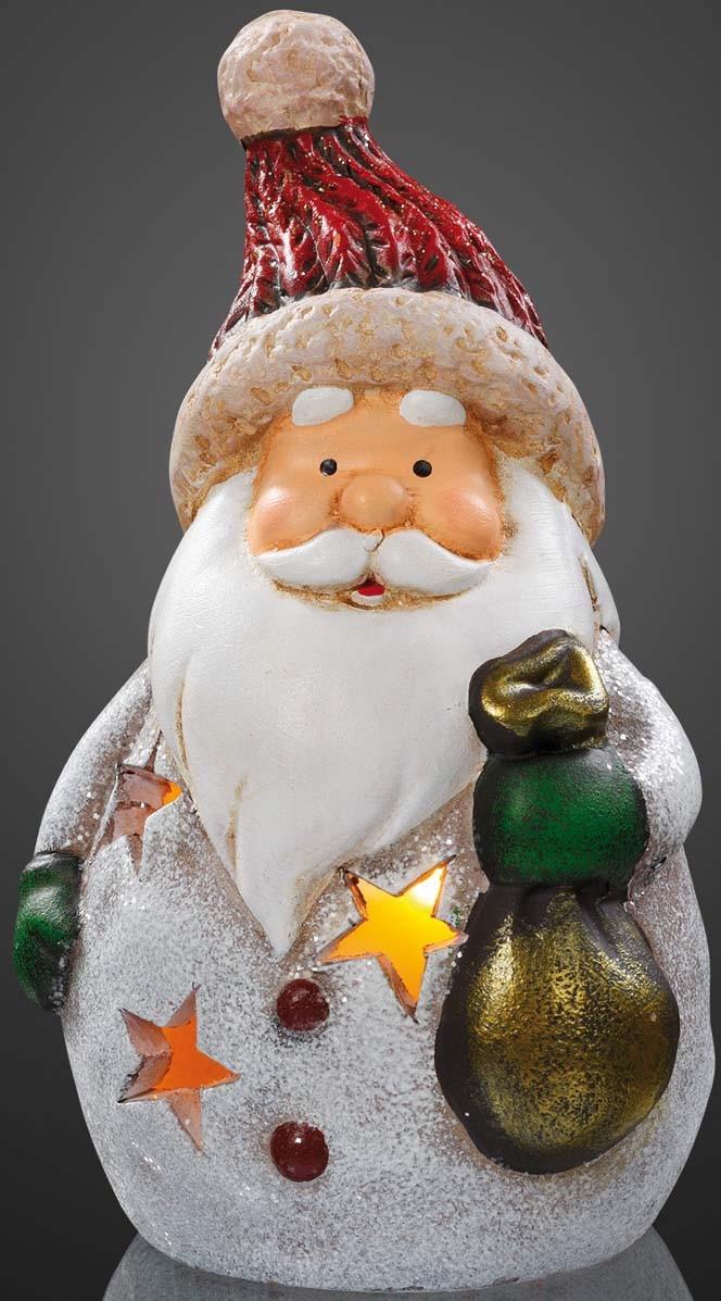Hellum Glühlampenwerk Weihnachtsmann m. Sack 520187