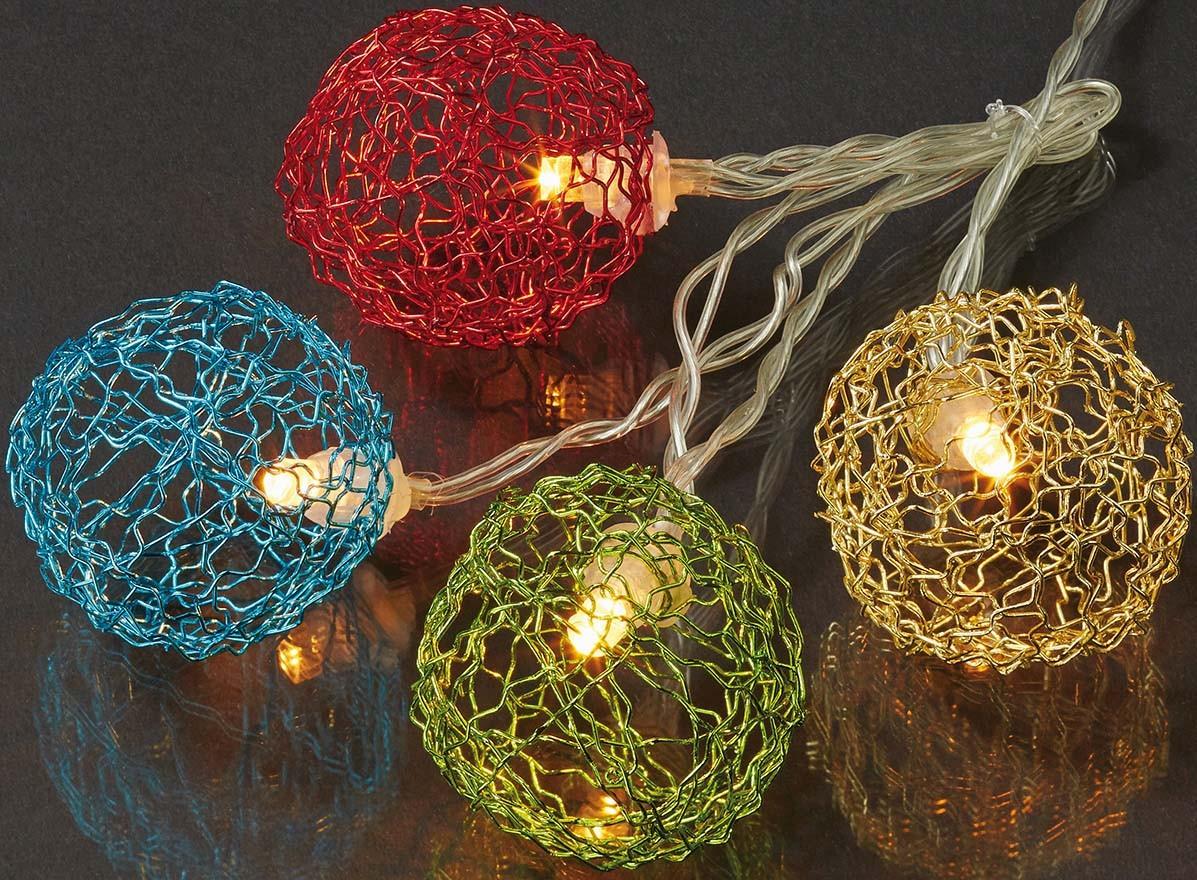 Hellum Glühlampenwerk LED-Lichterkette 20flg 576542