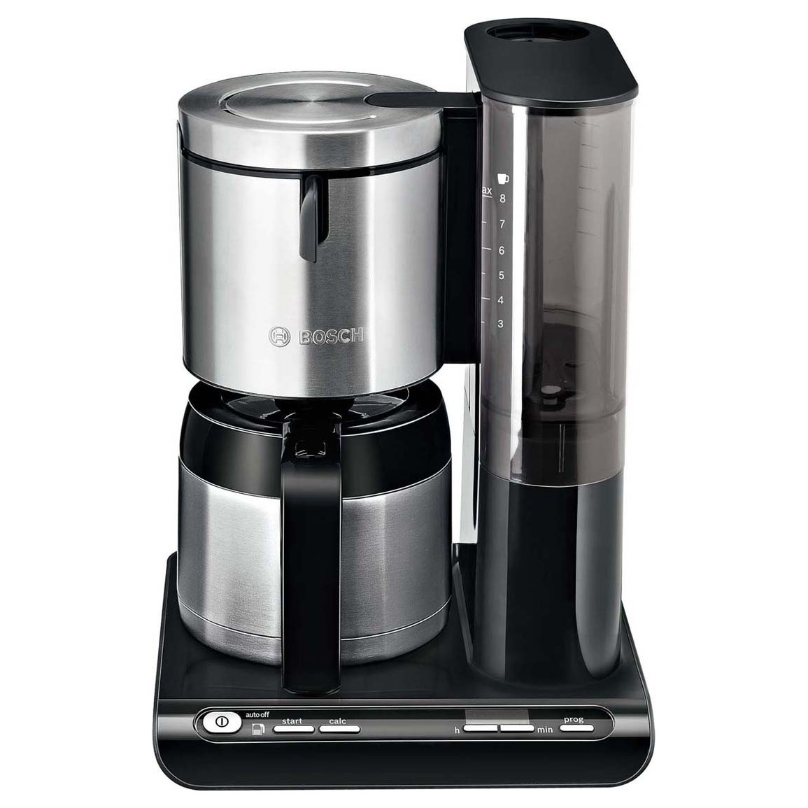 Bosch Kleingeräte+HT Thermo-Kaffeeautomat TKA8653 sw