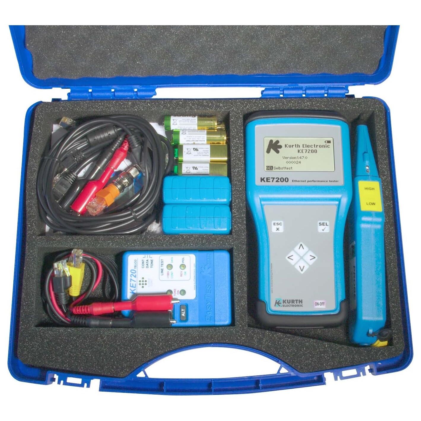 Kurth Electronic KE7200 Netzwerktester Set KE 7207